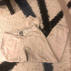 Roots light grey sweatpants (size small women's)